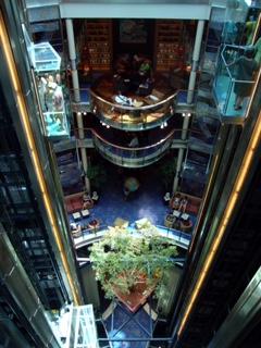 Celebrity Solstice lobby