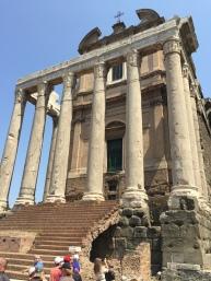 Temple near the Forum